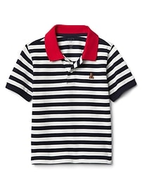 T-shirt style polo à rayures