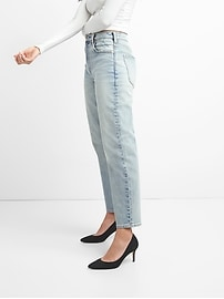 Cone Denim&#174 High Rise Wide-Straight Jeans
