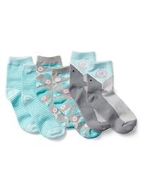 Chaussettes imprimées (paquet de 3paires)