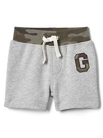 Camo Logo Pull-On Shorts