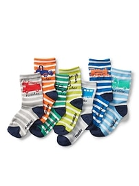 Truck Days-of-the-Week Socks (7-Pack)