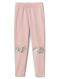 Animal Leggings in French Terry