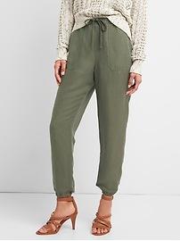 Pantalon d'entraînement militaire en lin