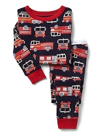 Pyjama à motif camion de pompier