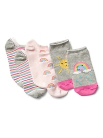 Graphic Ankle Socks (3-Pairs)