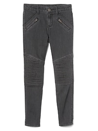 Moto Skimmer Jeggings in High Stretch