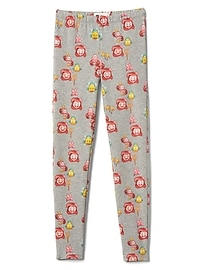 GapKids &#124 Disney Mickey Mouse and Minnie Mouse soft terry leggings