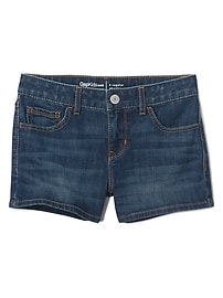 Stretch shorty shorts