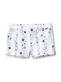 Stretch star shorty shorts