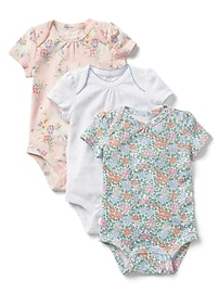 Cuddle & Play Print Bodysuit (3-Pack)