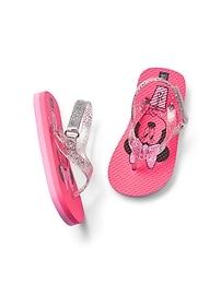 GapKids &#124 Disney Minnie Mouse Flip Flop Sandals