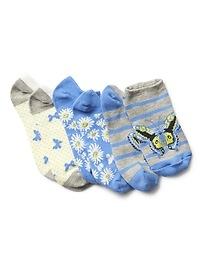 Emoji Ankle Socks (3-Pairs)