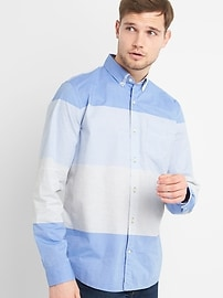True Wash Poplin Shirt with Stretch