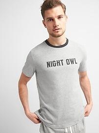 Slogan Crewneck T-Shirt