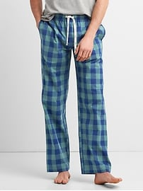 Pantalon de pyjama en popeline