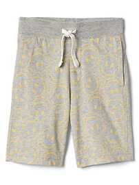 "5"" Print Pull-On Shorts"
