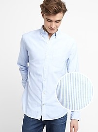 Oxford Shirt in Stretch