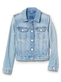 Veste en denim de style tricot superdoux