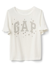 Sparkle Logo Graphic T-Shirt