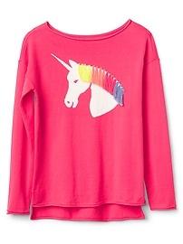 Unicorn Boatneck T-Shirt