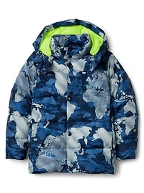 Veste à imprimé camouflage Gap for Good