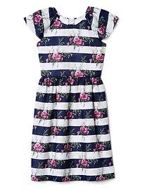 Gap &#124 Sarah Jessica Parker Fit and Flare Dress