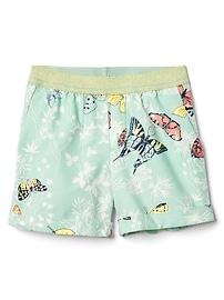 "3.5"" Print Pull-On Shorts"