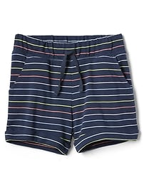 """3"""" Stripe Roll Short in French Terry"""
