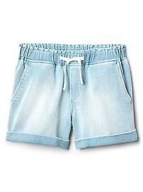 """3.5"""" Denim Shorts with Fantastiflex"""
