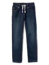 Superdenim Pull-On Slim Jeans with Fantastiflex