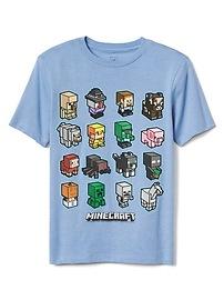 T-shirt à manches courtes Minecraft