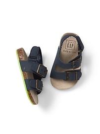 Sandales à double boucle