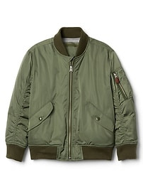 Bomber Jacket in Twill
