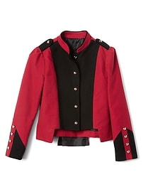 Limited Edition colorblock band leader jacket