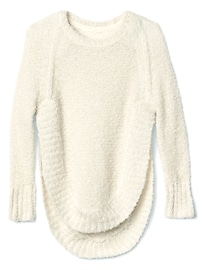 Shimmer Cocoon Pullover Sweater
