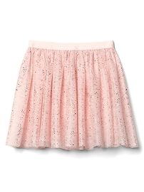 GapFit kids glitter tulle skirt