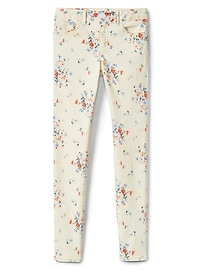 Superdenim Super Skinny Jeans in Floral with Fantastiflex