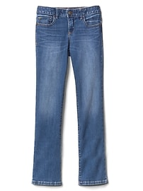 Mid Rise Boot Jeans in High Stretch