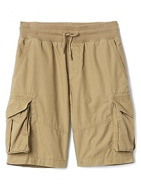 "8.5"" Pull-On Cargo Shorts"