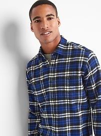 Chemise coupe standard à carreaux pleins