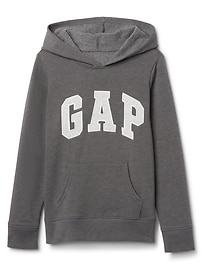 Logo Hoodie Sweatshirt in Fleece