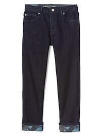 Indestructible Superdenim Camo Straight Jeans