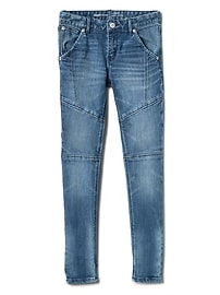 Indestructible Superdenim Seamed Skinny Jeans