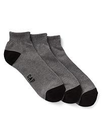 Quarter Crew Socks (3-pack)