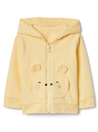 Bear Hoodie in French Terry