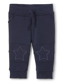 Star Pull-On Pants in Fleece