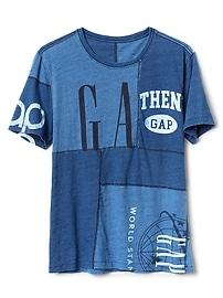 Logo Remix Short Sleeve Crewneck T-Shirt