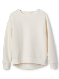 Velour Crewneck Sweatshirt
