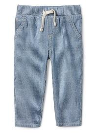 Pull-On Jeans in Railroad Stripe