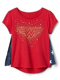 GapKids &#124 DC&#153 Wonder Woman Cape T-Shirt